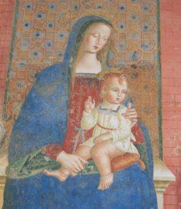 Spello Madonna con bambino