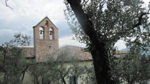 Spello Vela della chiesa